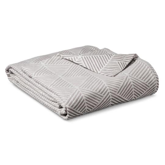 Threshold Ringspun Cotton Fashion Blanket at Target