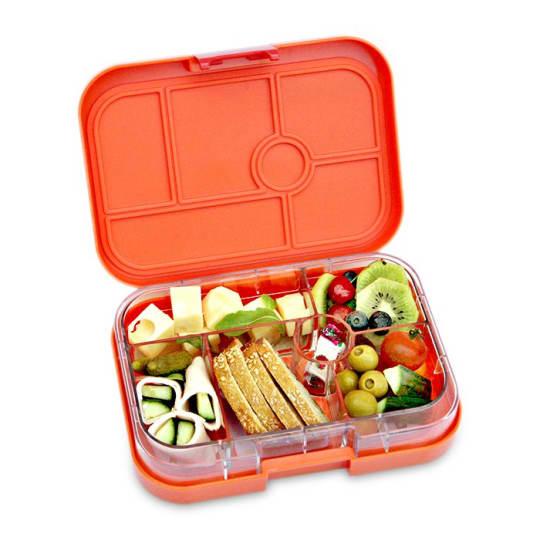 Zucca Orange Lunch Box from Yumbox