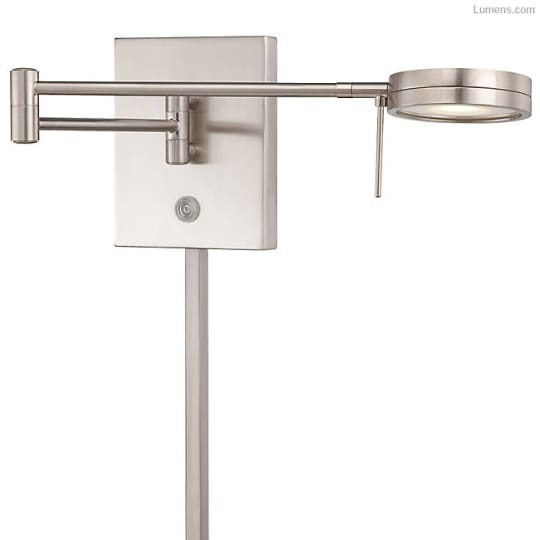 Swing Arm Wall Sconce by George Kovacs