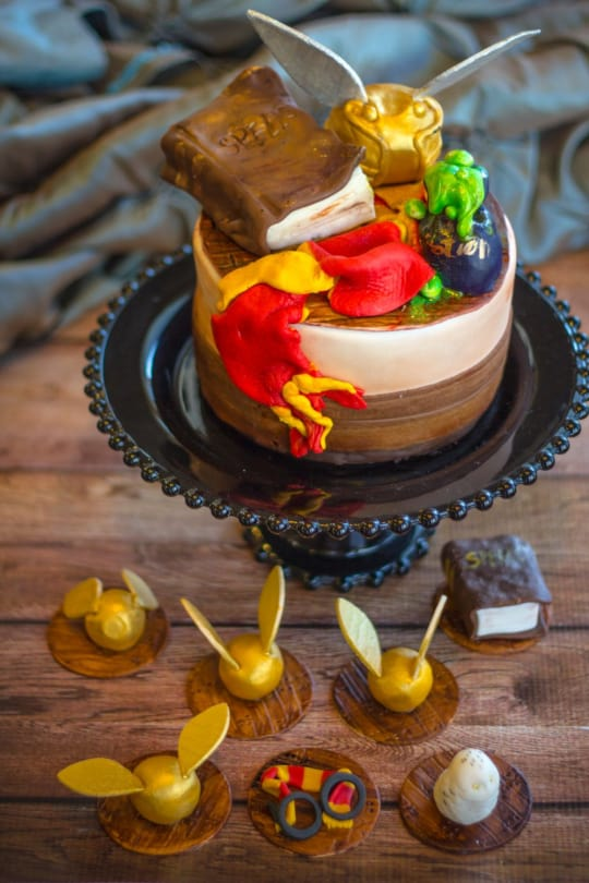 Wizard-Themed Toppers from Charlie's Cookies
