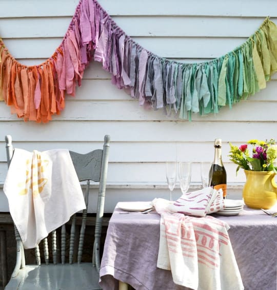 Gypsy Torn Fabric Garland by Untold Imprint