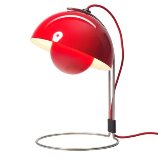 Flowerpot Table Lamp by Verner Panton