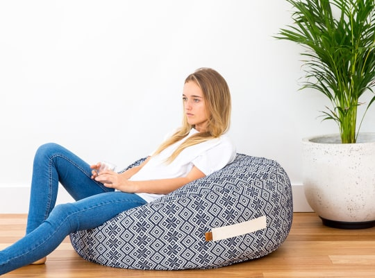 Bask Bean Bag by Seven Seas Home at Etsy