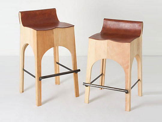 Morris Bar and Counter Stools from Anthropologie