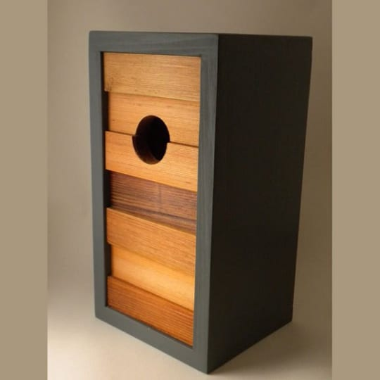 The Ebb and Flow Birdhouse from Twig & Timber
