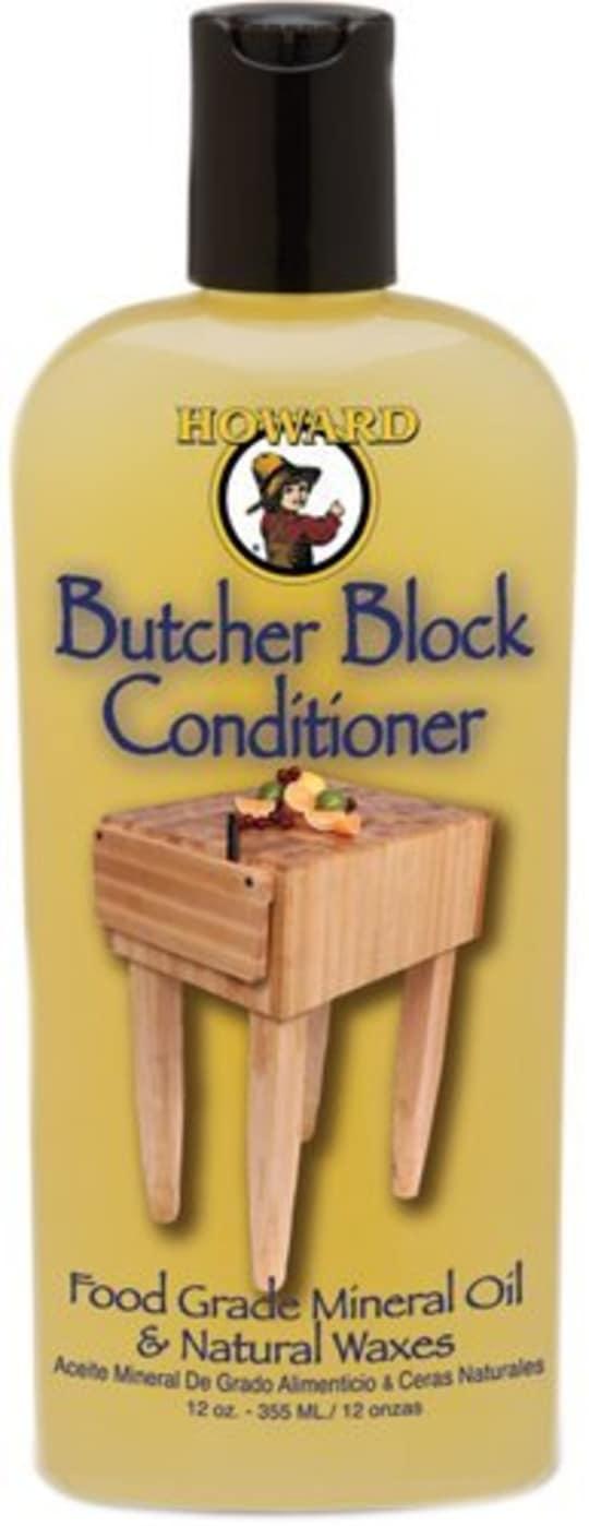 Howard Butcher Block Oil & Wax Combined