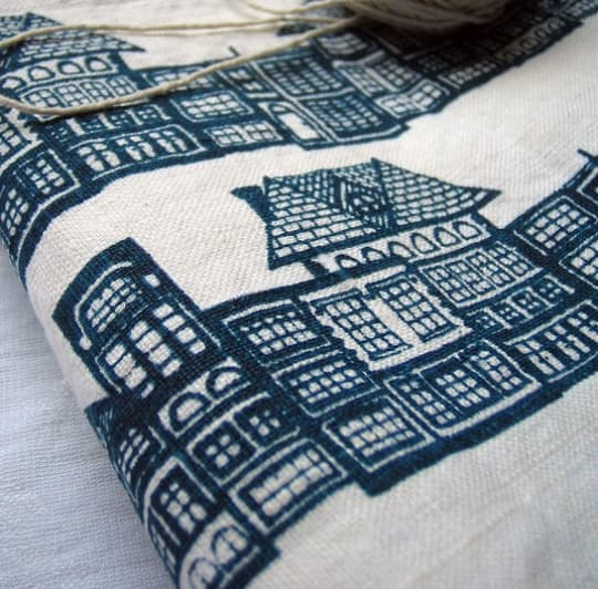 HUTS Tea Towel from BlueBerry Ash
