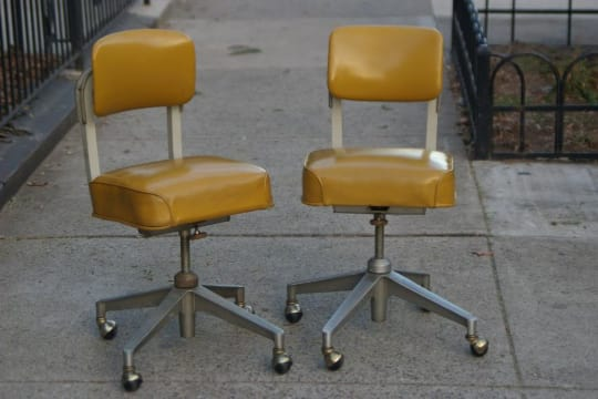Vintage Steelcase Office Desk Chairs