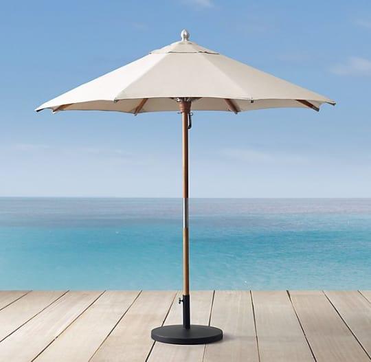 RH Premium Teak Umbrella