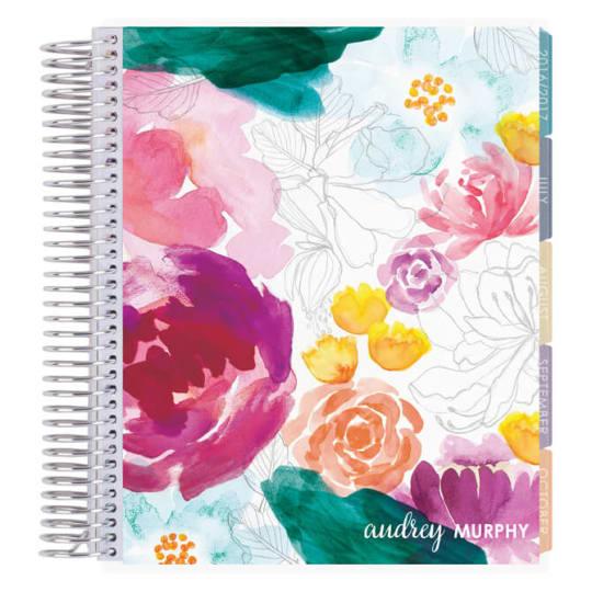 Erin Condren Life Planner, in Watercolor Floral