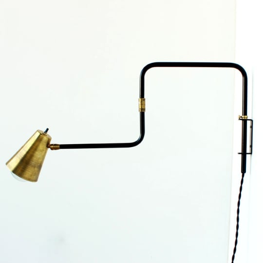 OneFortyThree Double-Jointed Swing Lamp