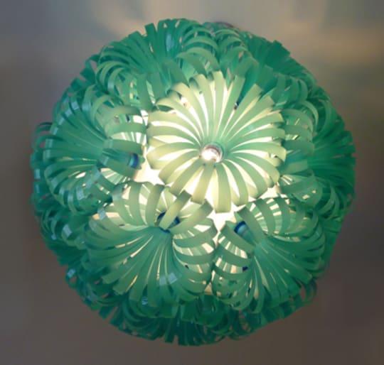Turquoise Cola 30 Lamp