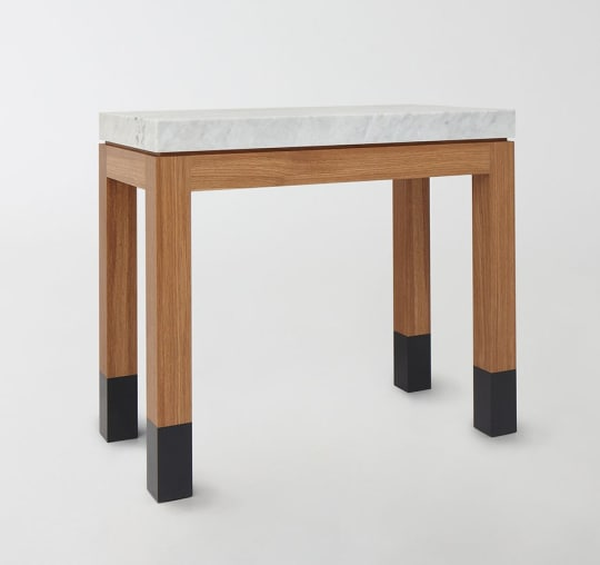 Marble Parsons Table