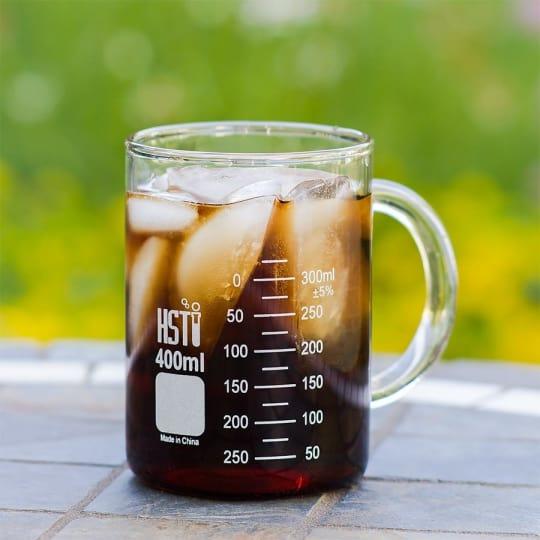 Glass Beaker Mug from Home Science Tools