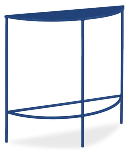 Slim Console Table in Half Round at Room & Board