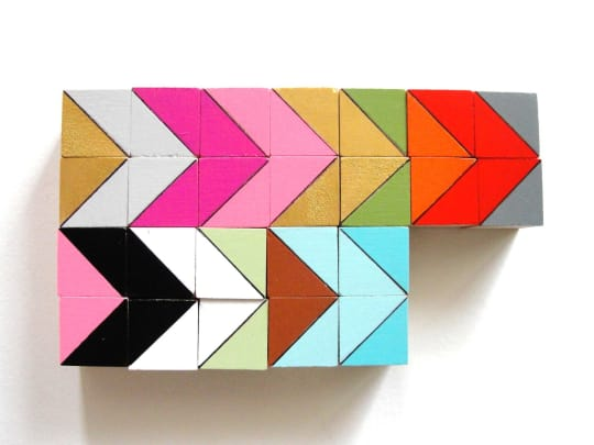 Austin Color Block Magnets from Cuppa Color