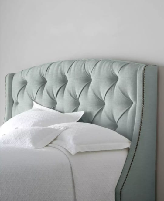 Rami Wing Tufted Headboard at Horchow