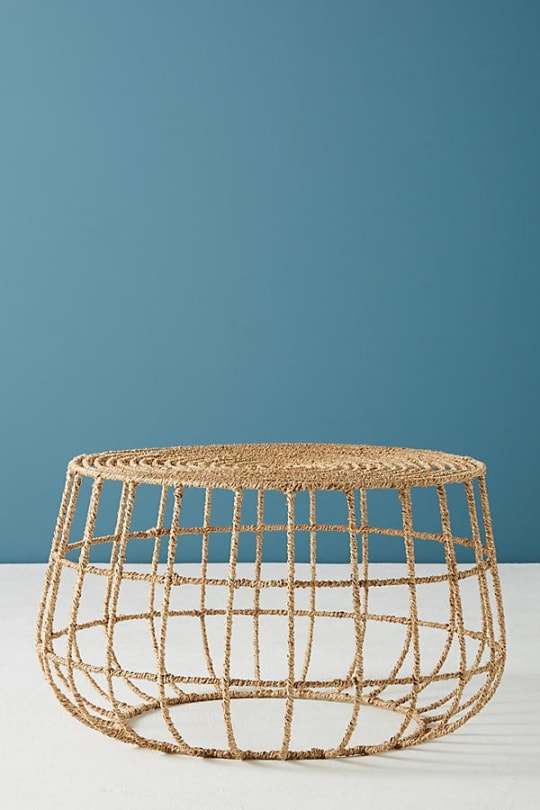 Jute Coffee Table at Anthropologie