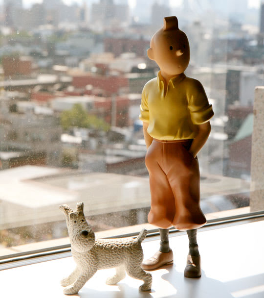 Tin Tin & Snowy Figurines by Moulinsart