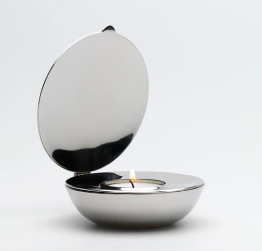 Shell Tealight Candle by Magnus Löfgren