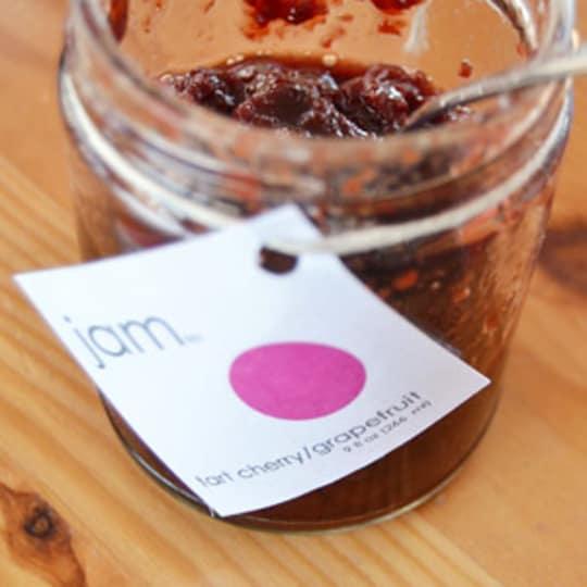 Tart Cherry Grapefruit Jam from We Love Jam