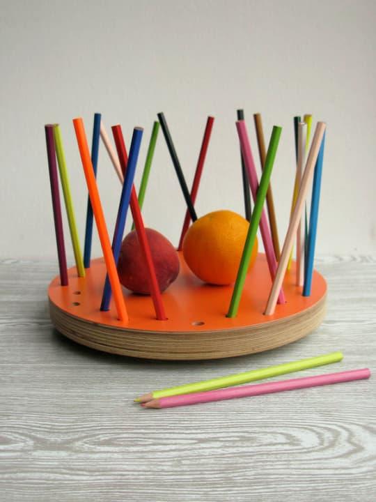 Pencil Tidy Fruit Bowl from Loglike
