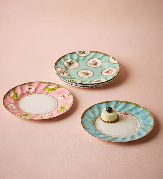 Tea Party Paper Plates from BHLDN