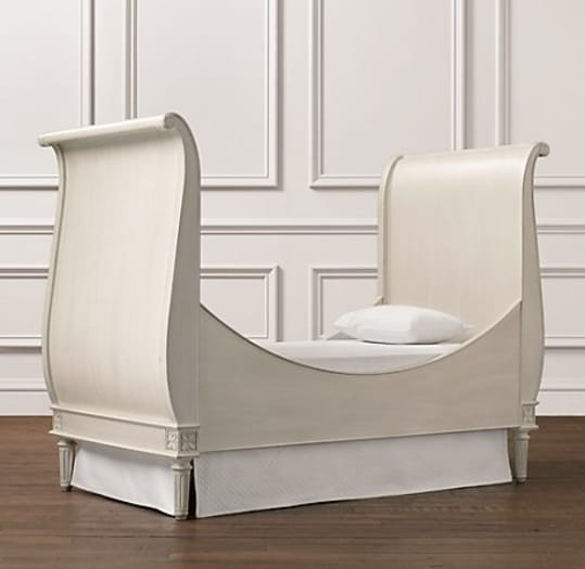 Emelia Sleigh Toddler Bed