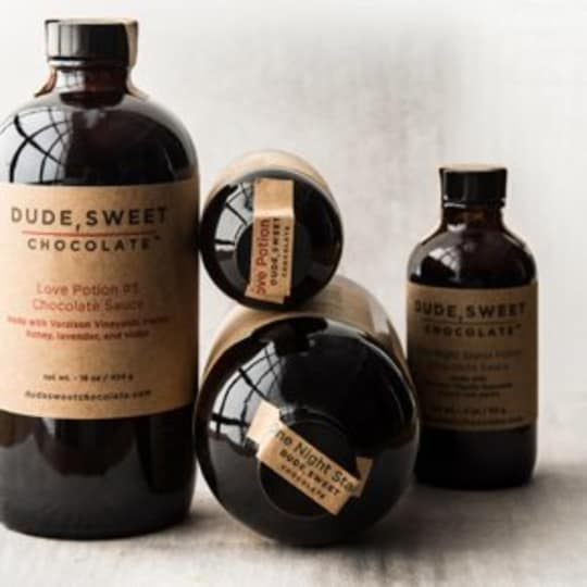 Love Potion Chocolate Sauces from Dude, Sweet Chocolate