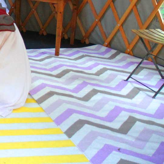 Zig Zag and Stripe Rugs