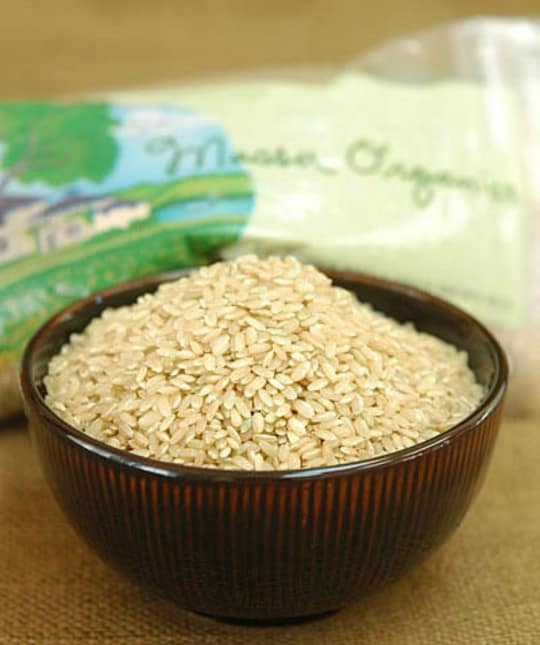 Massa Organics Short Grain Brown Rice