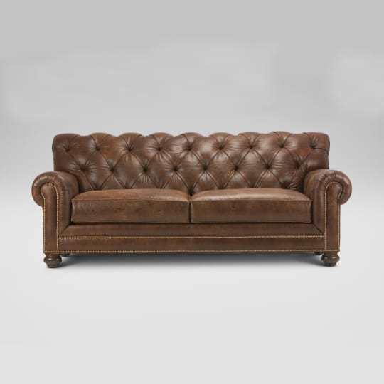 Chadwick Leather Sofa at Ethan Allen