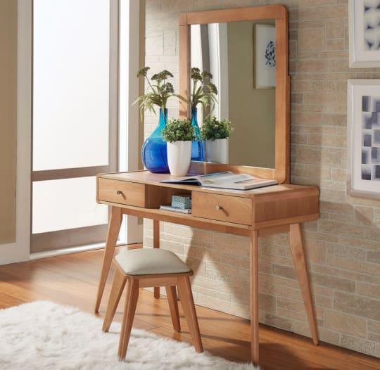 Penelope Danish Modern Vanity Table