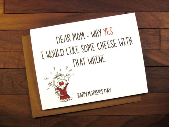 Funny Mother's Day Card from The Painted Kitchen