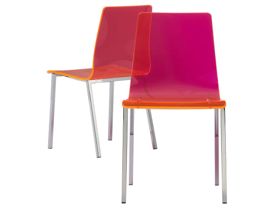 Vapor Neon Chairs from CB2