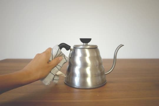 Mini Potholder with Black Spokes from Dozi