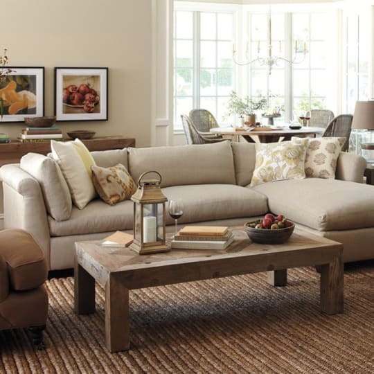 Williams-Sonoma Customizable Sectional Sofa at Williams-Sonoma Home