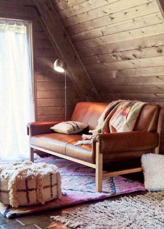 Cresley Leather Sofa
