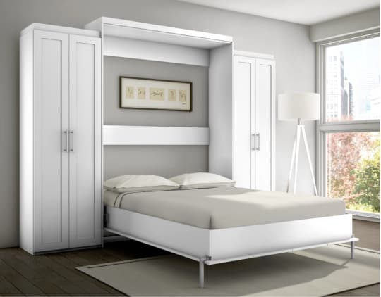 Stellar Home Furniture Shaker Full Wall Bed at Overstock