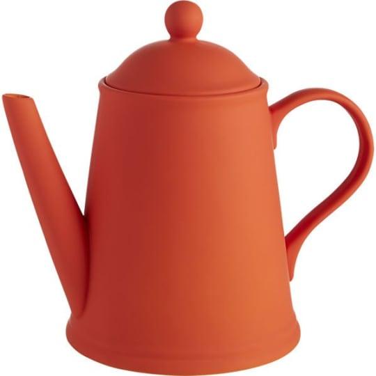 Wayne Orange Teapot from CB2