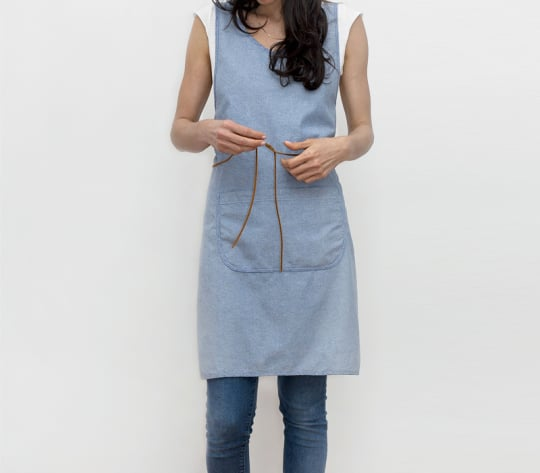 Cooking Smock in Bluebird from Honest Fare