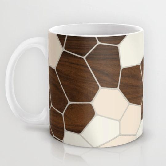 Geode in Cream Mug from Jef Designs