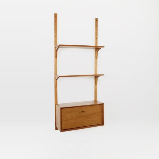 Mid-Century Shelving + Cabinet Set at West Elm