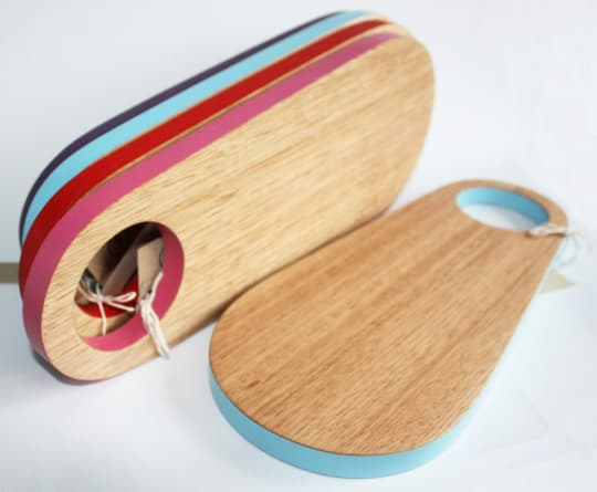 Colorful Kitchen Boards from TreeHorn