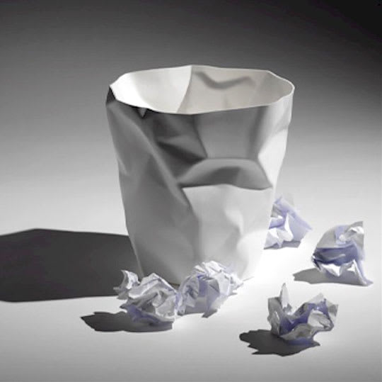 Bin Bin Wastebasket by John Brauer