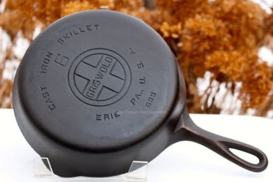 dating griswold cast iron pans