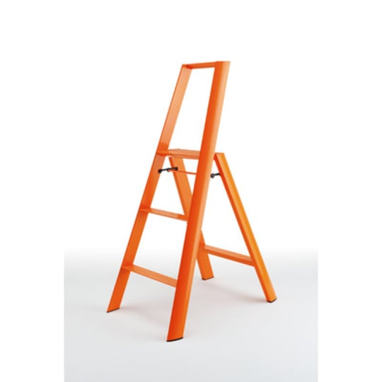 Lucano Orange 3-Step Ladder