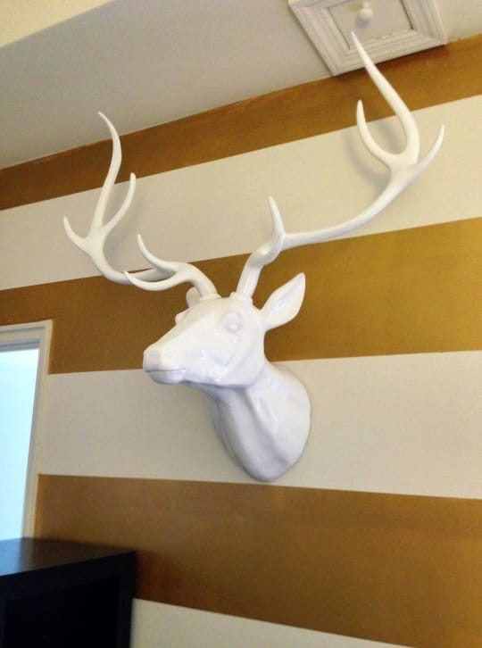 "39"" Faux Deer Head"
