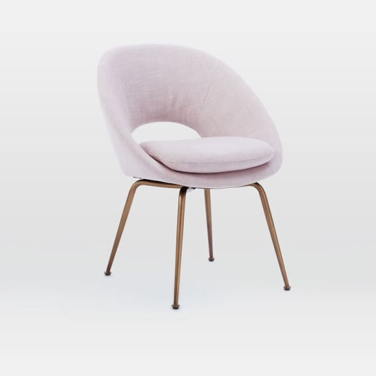 Orb Upholstered Dining Chair at West Elm