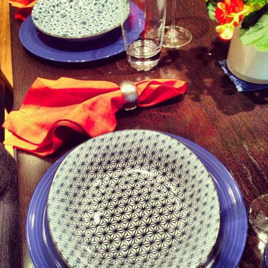 Blue & White Bowls and Dishes